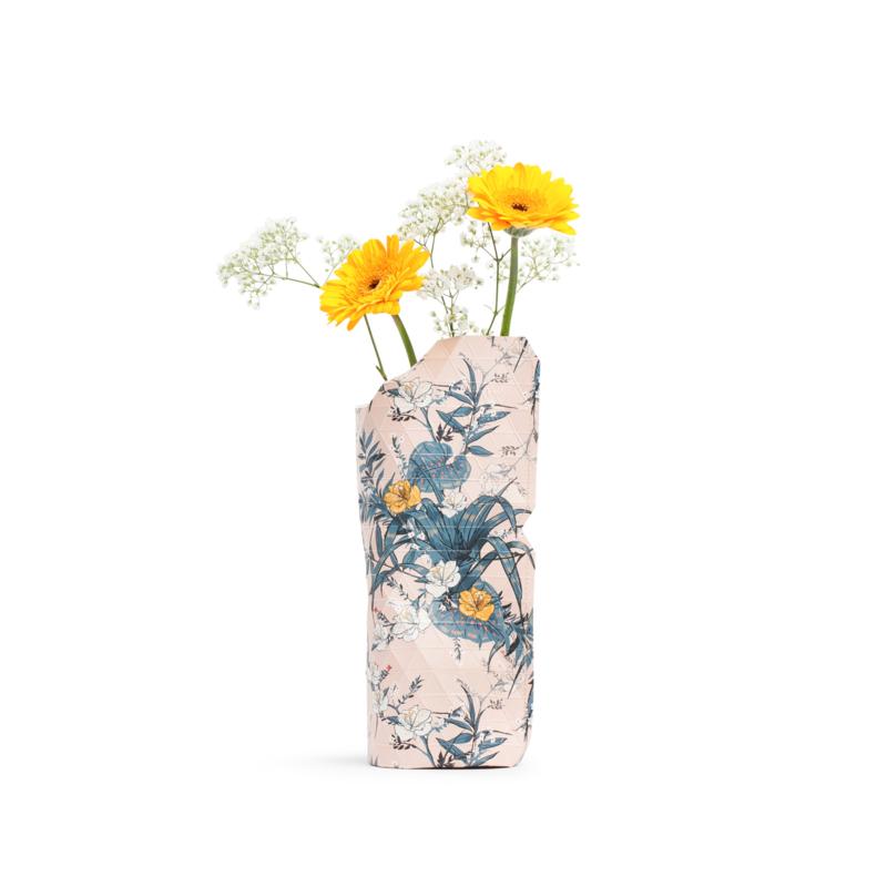Pepe Heykoop - Papieren Vaas small - Pink Flowers