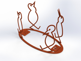 BIRDS and MORE CorTenStaal