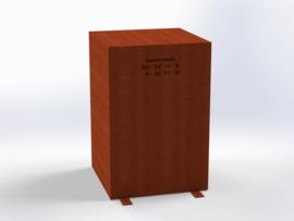 Steel REGULAR 670 (CorTenStaal)