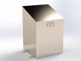 Steel REGULAR Tilted (RVS)