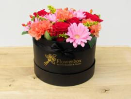 Flowerbox maat M gemengde bloemen