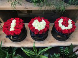 I love you (bestaande uit 3 flowerboxen)