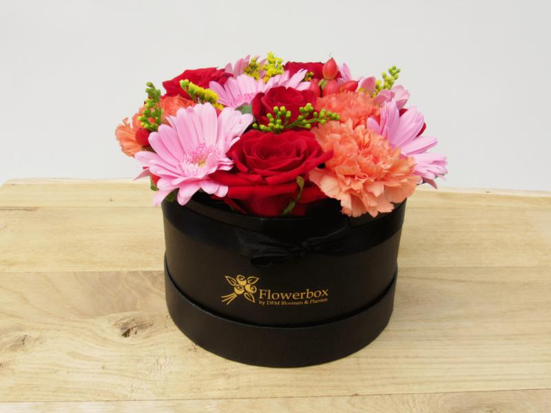 Flowerbox gemengde bloemen maat S