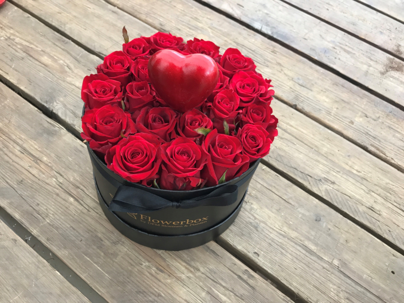 Valentijnsbox hartje | maat S
