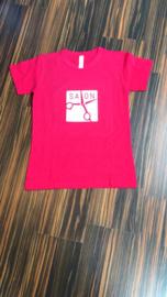 T-shirt met Bedrijfslogo aan de voorzijde