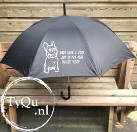 Paraplu Franse Bulldog