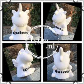 Unicorn Led nachtlampje met naam