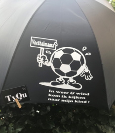 """Paraplu """"voetbalmama"""""""