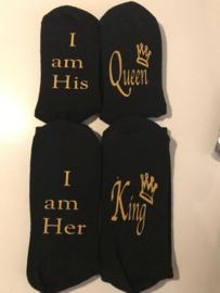 Badstofsokken King/ Queen