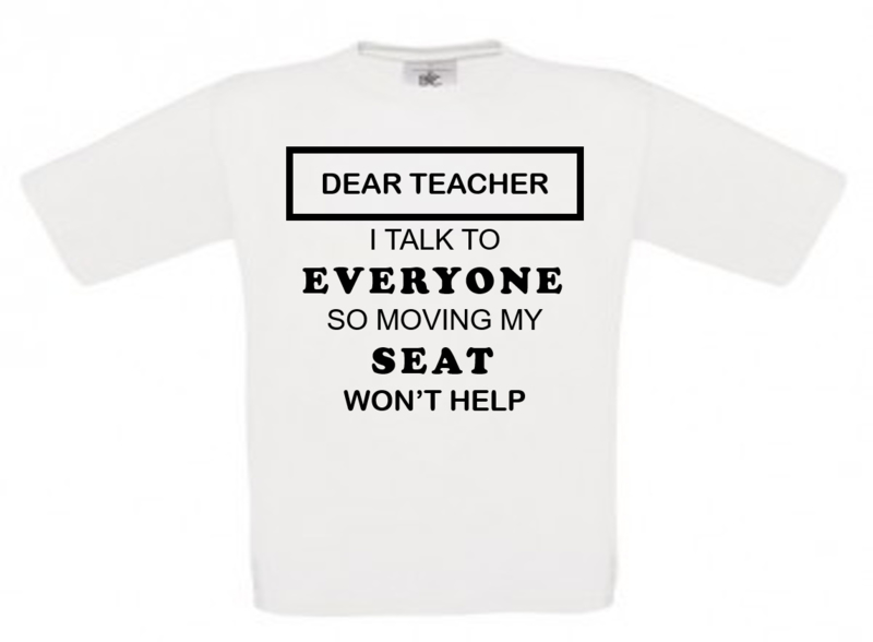 T-shirt  DEAR TEACHER