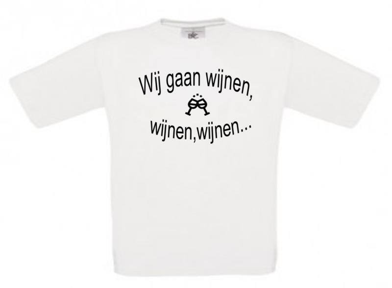 T-shirt Wijnen