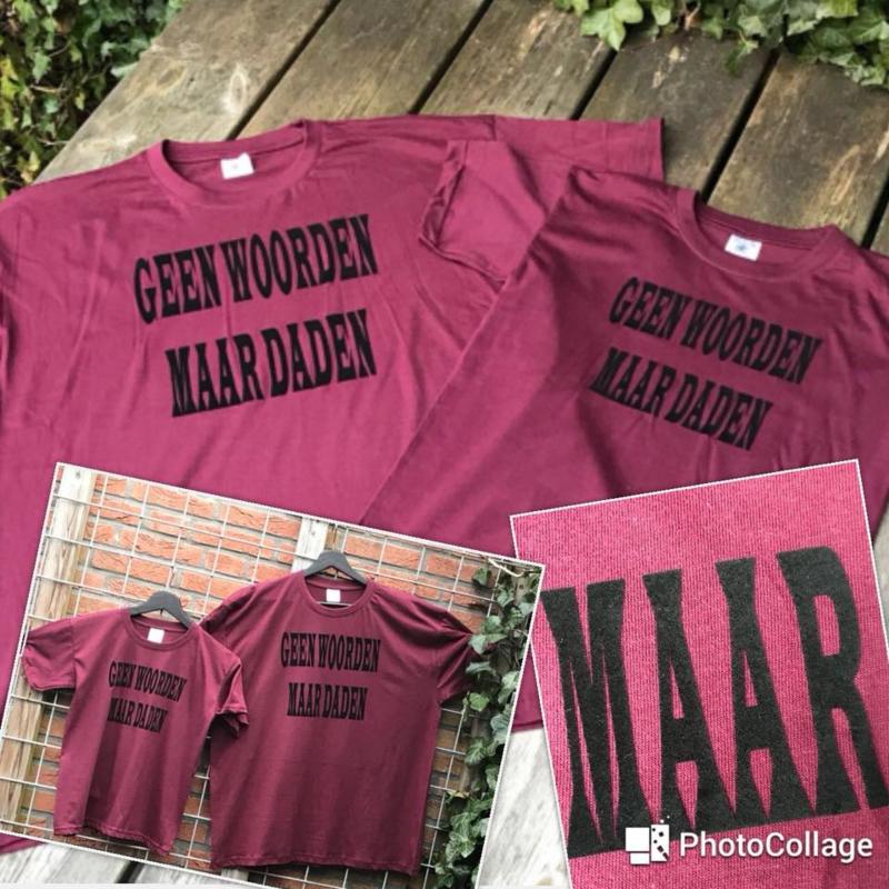 Vader / zoon t-shirt