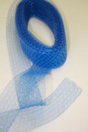 Decoratietule blauw
