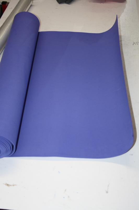 EVA foam 2 mm kobaltblauw