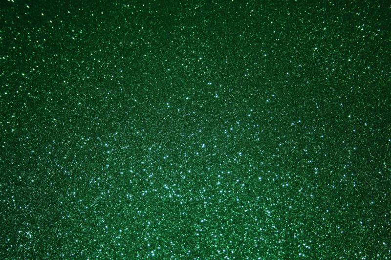glitterfoam groen