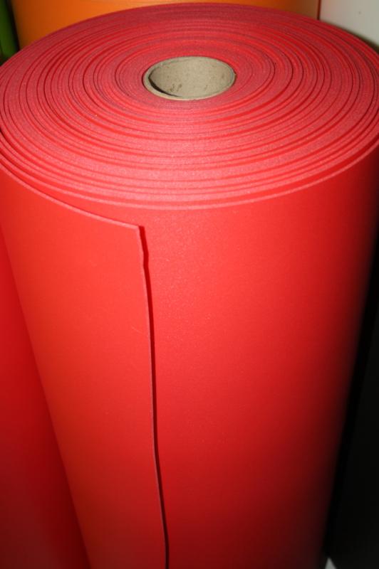Foam PE  3,5 mm rood