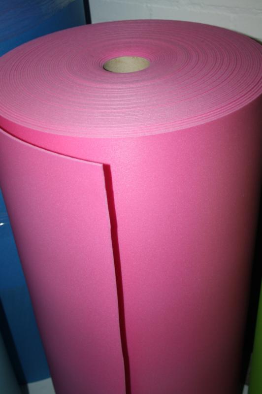 Foam PE fuchsia 3,5 mm