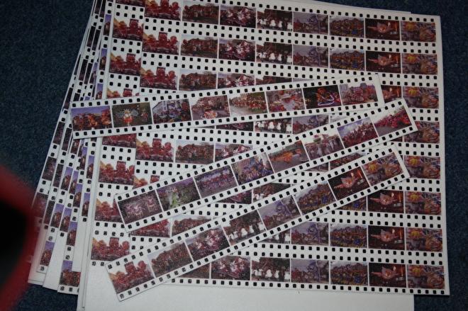 Filmrol geprint
