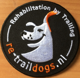 Re-Trail Dogs Badge (Strijkbaar)