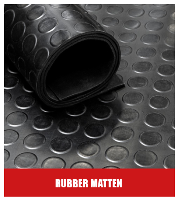Cleanwalk rubber matten
