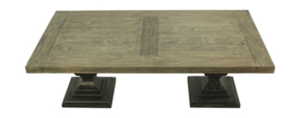 Salontafel Durham - 130x70 cm - old grey