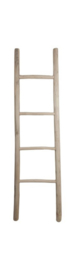 Decoratieve ladder - teak