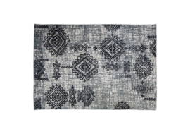 Vloerkleed - katoen - 230x160 cm - grijs