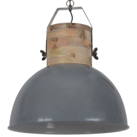 Hanglamp Fabriano 50 cm glans donker grijs