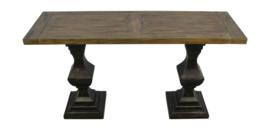 Sidetable Durham - 140x45 cm - old grey