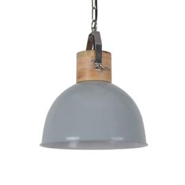 Hanglamp Fabriano 30 cm glans licht grijs