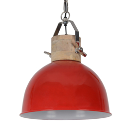 Hanglamp Fabriano 40 cm glans rood
