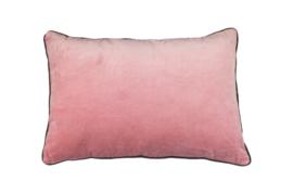 Sierkussen - katoen - 60x40 cm - roze
