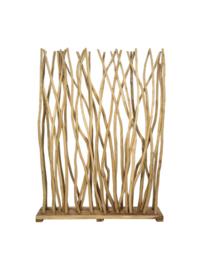 Roomdivider Branch - 120x160 cm - teak