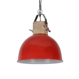 Hanglamp Fabriano 30 cm glans rood