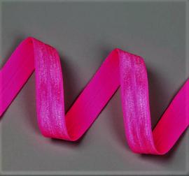 Elastiek fluo/neon roze