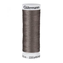 Gütermann 200m Donker grijs (093)