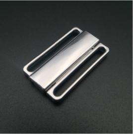 Bikinisluiting Zilver 2.5 cm