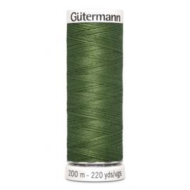 Gütermann 200m donker olijf groen (148)