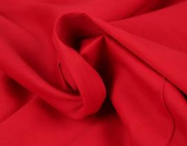 Katoen (Poplin) Rood