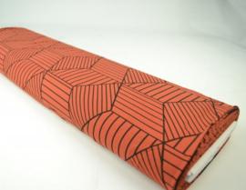 Tricot WOW Collectie brique Print 2