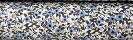Katoen Bloemenveld (Denim collectie)