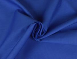 Katoen (Poplin) Koningsblauw