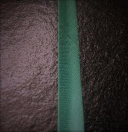 Biasband katoen donker groen 12 mm