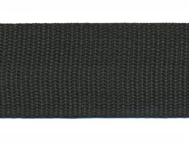 Tassen band PP 30mm zwart