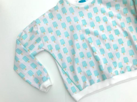 "Paper pigeon ijsjes ""About Blue Fabrics"""