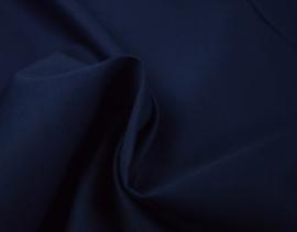 Katoen polyester mix (Poplin) Marine
