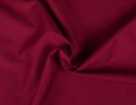 Katoen (Poplin) Wijn rood