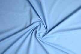 Tricot uni baby blauw