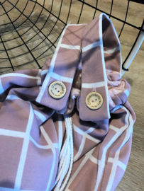 Box / bed zak oud roze