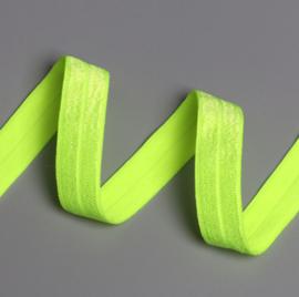 Elastiek fluo/neon geel